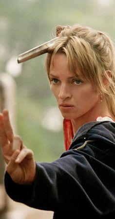Uma Thurman as Beatrix Kiddo in Kill Bill (2003)