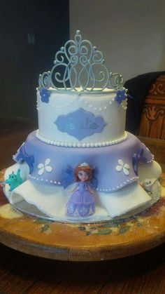 Sofia birthday cake
