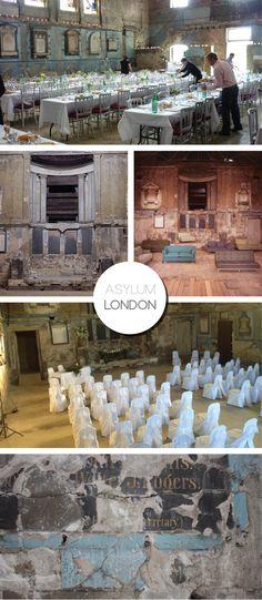 Asylum Wedding Venue | London on Bride Bubble - Wedding & Style Blog.