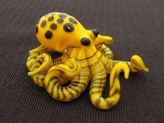 Octopus pendant by EmergentGlassworks.  Love it!