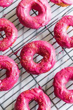 Grain Free Strawberry Cake Doughnuts | Get Inspired Everyday!
