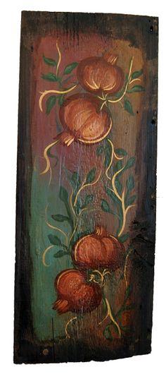 Ελαιογραφία σε παλαιό ξύλο