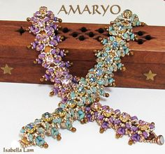 AMARYO CZECHMATES Swarovski Sew on in set and SuperDuo by bead4me