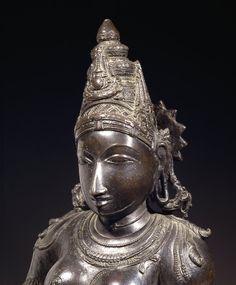 Hindu Goddess Parvati. ca. 1550 India, Tamil Nadu. bronze. British Museum