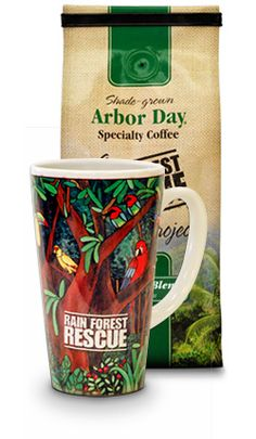 Coffee Club - Arbor Day Specialty Coffee: Order a bag of shade grown Arbor Day Specialty #Coffee for just $6.95 and you'll receive a free Rain forest Rescue Coffee mug. We'll ensure the prompt arrival of two freshly roasted bags of coffee every month at $9.49 per bag, which is a 20% discount from the online store.