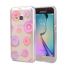 Owl Donuts Silicone Case For Samsung Galaxy J1 2016 J120F J120H J120T/Express 3 J120A Cover Cartoon Soft Plastic TPU Phone Cases