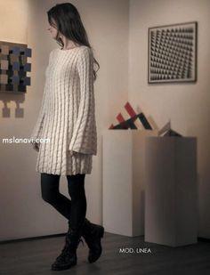 ВЯЗАНОЕ ПЛАТЬЕ / KNITTED DRESS http://mslanavi.com/2013/04/vyazanoe-plate-spicami-trapeciya/