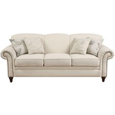 Lark Manor Persil Sofa in Oatmeal