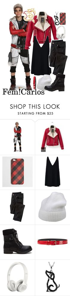 """""""&&♔; fem!carlos bound"""" by p-rincess-evie ❤ liked on Polyvore featuring Disney, Relaxfeel, J.Crew, STELLA McCARTNEY, Wrap, Forte Forte, Jil Sander, Beats by Dr. Dre and kendallbounds"""