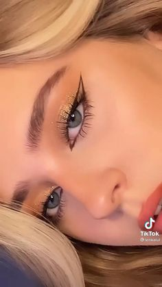 Dope Makeup, Baddie Makeup, Eye Makeup Art, Kiss Makeup, Hair Makeup, Creative Makeup, Simple Makeup, Natural Makeup, Eyeliner Looks
