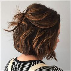 34 stunning examples of short brown hair highlights short brown hair . - 34 stunning examples of short brown hair highlights short brown hair highlights hairstyles - Brown Hair Balayage, Hair Color Balayage, Caramel Balayage Bob, Balayage Bob Brunette, Light Brunette Hair, Short Brunette Hair, Short Balayage, Caramel Blonde, New Hair