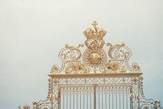 Sun gate at the Palace of Versailles in France  Soo Amazing.