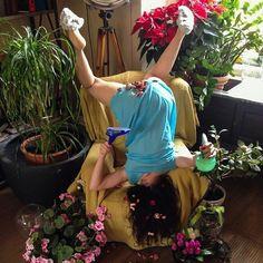Des positions inconfortables suite à une chute Photo