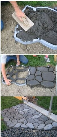 Our diy front path makeover on a budget zenshmen project curb excellent item for the do it yourself easy to use and the finished project looks great awesome idea for an outdoor shower floor solutioingenieria Choice Image