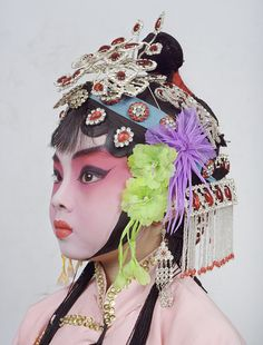 """Charles Freger, the well-known photographer responsible for """"Wilder Mann,"""" visited China and documented the complex and gorgeous costumery of the Beij. Portraits, Portrait Art, Pekin Opera, Charles Freger, Contemporary Art Gallery, Chinese Element, Chinese Opera, Kids Around The World, Cultural Identity"""