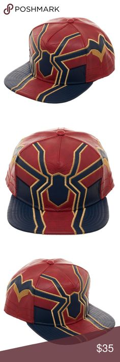 watch 61251 ca0d3 Iron Spider-Man Snapback Hat Avengers Infinity War This is for 1 Marvel  Comics