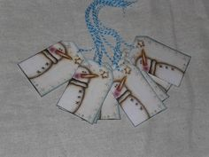 9 Primitive Whimsical Winter Snowman Christmas Hang Tags Gift Ties Ornies Scrapbooking Embellishments Holiday Tree Ornaments by ChooseMoose on Etsy