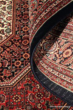 Dywany perskie Bidjar Arossbaft; w zbliżeniu z runa wydobywa się ogromna porcja żywych naturalnych barw. Dywany Kolekcjonerskie by Sarmatia Trading