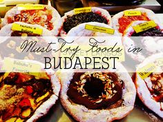 More than just goulash and paprika, here are 25 delicious and hearty traditional Hungarian foods every traveler must try when in Budapest!