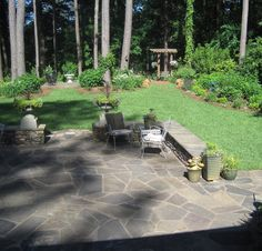 What About A Flagstone Patio? Faster To Install Than Pavers Because There  Are Fewer Pieces