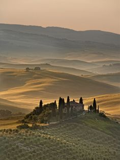 Italy, Tuscany, Siena District, Orcia Valley, Podere Belvedere Near San Quirico D'Orcia province of Siena