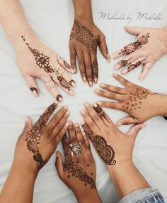 Simple party henna designs #mehndi #mehndibymaliha #henna #hennadesign