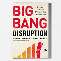 Big Bang Disruption: Strategy in the Age of Devastating Innovation Watch a video that explains Big Bang Disruption. Navigate through the 12 rules for surviving in the Age of Devastating Innovation.