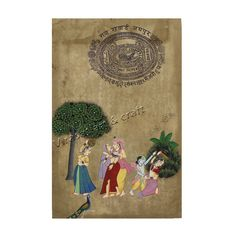 Miniature Painting of Radha Krishna on ancient rare stamp paper, gift, home decor, Indian art, Indian handicraft by VirasatArtAndCraft on Etsy Indian Gods, Indian Art, Rare Stamps, Paper Ship, Stamp Collecting, Art Forms, Krishna, Art Pictures, Handicraft