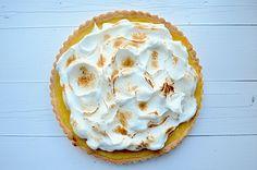 Citroen meringue taart -