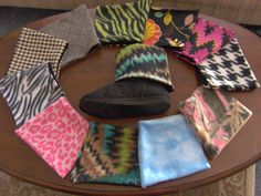 Bangin' BOOT CUFFS 10 Styles to choose from by ProdigalPurses
