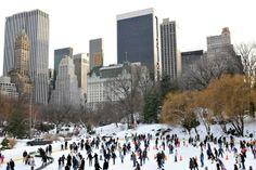 New York City on ice - Trump Rink, Central Park (Condé Nast Traveller)