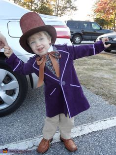 Little Willy Wonka costume