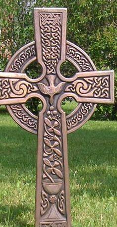Celtic ringed cross.