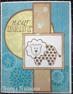 Tracys Treasures: New Baby Tristan's card.