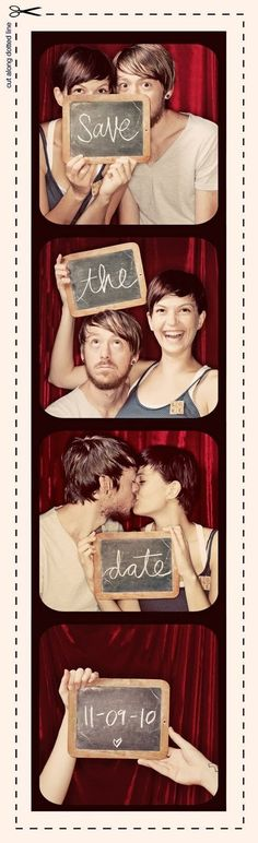 "Photomaton "" Save the Date """