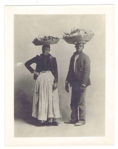 Antique Vintage Photograph African American by chemindesmuguets, $15.00