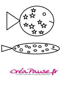 Bricolages DIY Poisson d'Avril et Printable gratuit à découvrir sur notre blog https://creapause.fr/blog/nouveautes-produits-creatifs/poisson-d-avril-diy #poisson #avril #diy
