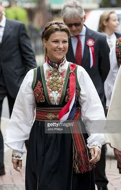 Princess Martha Louise of Norway takes part in a parade in Southwark Park as she celebrates Norway National Day on May 17, 2013 in London, England.
