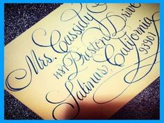 Calligraphy by Jennifer