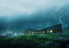 Making of Roldal Pilgrim Center by Plankton Group
