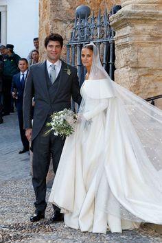 Lady Charlotte em seu casamento, na Espanha, em 2016 (Foto: Getty Images)