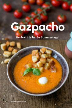 Meine erfrischende #Gazpacho ist ein perfektes #Sommerrezept für heiße Tage.   Rezept von malteskitchen.de