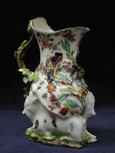Cream jug, ca. 1745 -  Chelsea Porcelain Manufactory