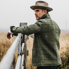 The Ojai Jacket in Windowpane Wool by Taylor Stitch. Tweed Men, Tweed Coat, Taylor Stitch, Trendy Outfits, Trendy Clothing, Moda Casual, Mens Attire, Cold Weather Fashion, Gentleman Style