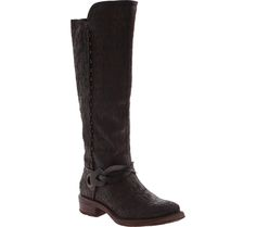 Women's OTBT Cache Knee High Boot - Rich Brown Leather with FREE Shipping & Exchanges. Bring your look together with this stunning decorated tall boot. The OTBT Cache is a knee high style