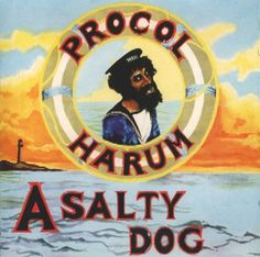 A Salty Dog (AM) 1969 Procol Harum Portada: dibujo de Dickinson's