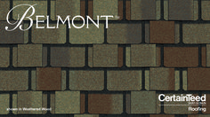 Best The Classic Look Of Slate Masterfully Replicated In High Performing Asphalt Shingles Belmont 400 x 300