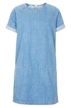 Topshop Moto Denim T-Shirt Dress | Nordstrom