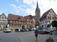My hometown in Germany <3 ZEIL AM MAIN