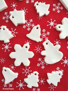Már többször elterveztem, hogy készítek karácsonyfadíszeket ezzel az eljárással, aztán valahogy mindig elmaradt. Most mégis belevágtam ...